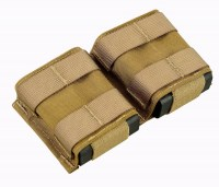 SHE-23032 GRIPTAC DOUBLE M4/M16 MAG POUCH