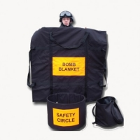 Bomb Suppression Blanket and Safety Circle