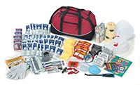 DELUXE 4 PERSON, 3 DAY DISASTER SURVIVAL KIT FAKSURD43