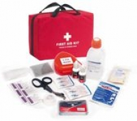 First Responder First Aid Kit in Nylon Bag FAKFR1BN