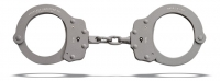Model 730C - Superlite - Chain Link Handcuff - Gray